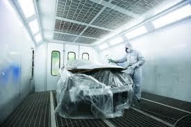 Cabina de pintura y horno de secado|Instalaciones modernas