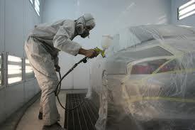 Detalle del proceso de pintado Nuestros servicios chapa y pintura